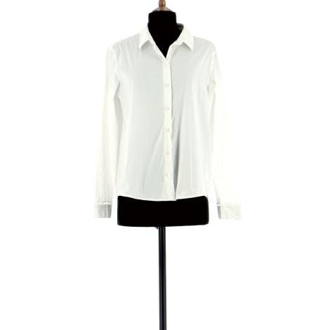 Chemise IKKS Blanc, blanc cassé, écru