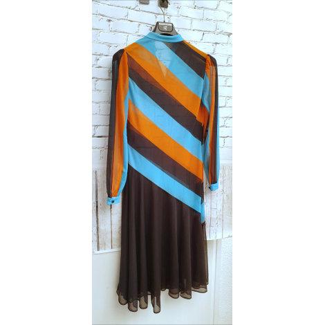 Robe mi-longue VINTAGE Multicouleur
