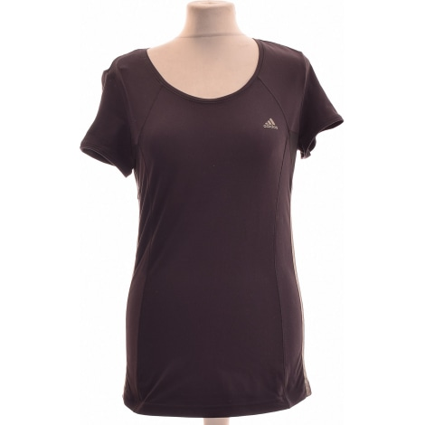 Top, tee-shirt ADIDAS Gris, anthracite