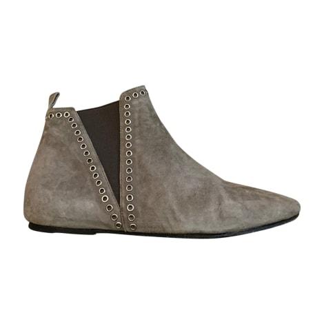 Bottines & low boots plates ISABEL MARANT Beige, camel