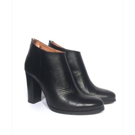 Bottines & low boots à talons EDEN Noir