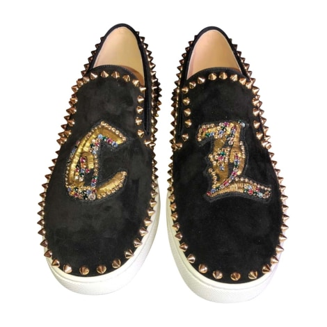 Baskets CHRISTIAN LOUBOUTIN Louis Noir