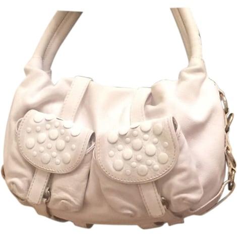 Leather Handbag SONIA RYKIEL White, off-white, ecru