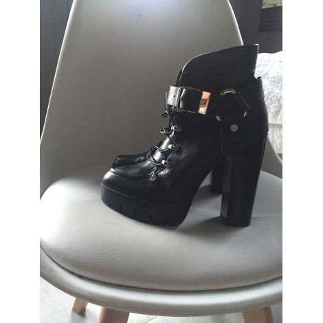 Bottines & low boots à talons ZARA Noir