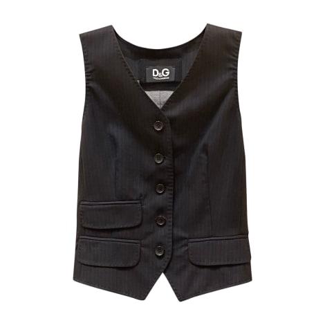 Sleeveless Vest DOLCE & GABBANA Black