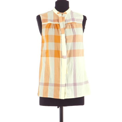 Chemise BURBERRY Orange