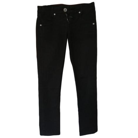 Jeans dritto MARITHÉ ET FRANÇOIS GIRBAUD Nero