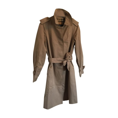 Imperméable, trench BURBERRY Mastic