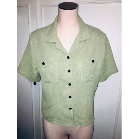 Chemisier VINTAGE Vert