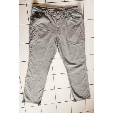 Jeans large WRANGLER Gris, anthracite