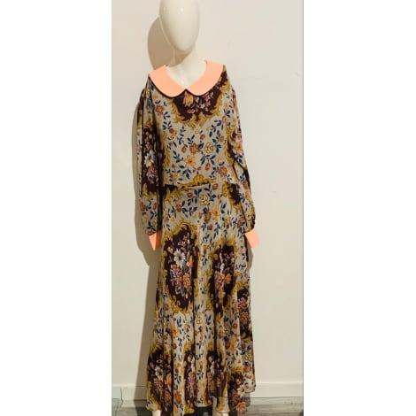 Robe longue VINTAGE Multicouleur