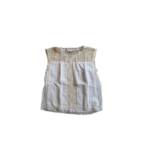 Top, tee-shirt GAT RIMON Blanc, blanc cassé, écru