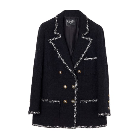 Blazer, veste tailleur CHANEL Noir