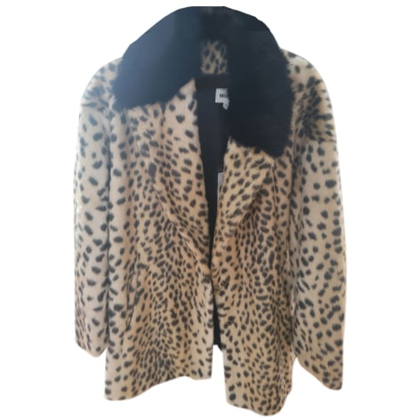Cappotto in pelliccia BEL AIR Stampe animalier