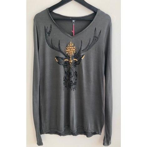 Top, tee-shirt HIPANEMA Kaki