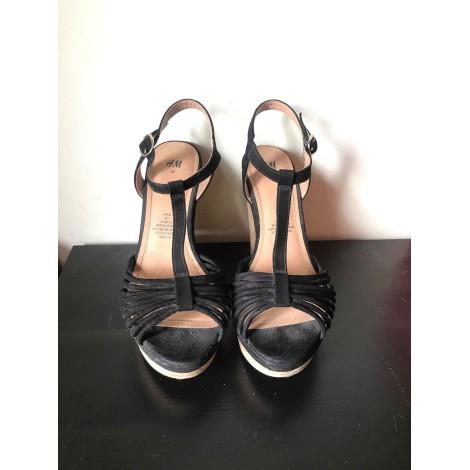 Sandales compensées H&M Noir