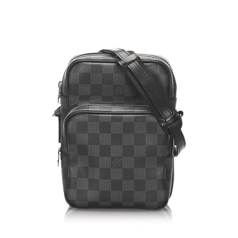 Borsa a tracolla in pelle LOUIS VUITTON Black