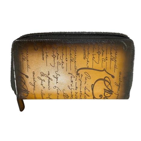 Wallet BERLUTI Brown