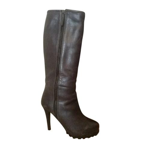 High Heel Boots FURLA Gray, charcoal