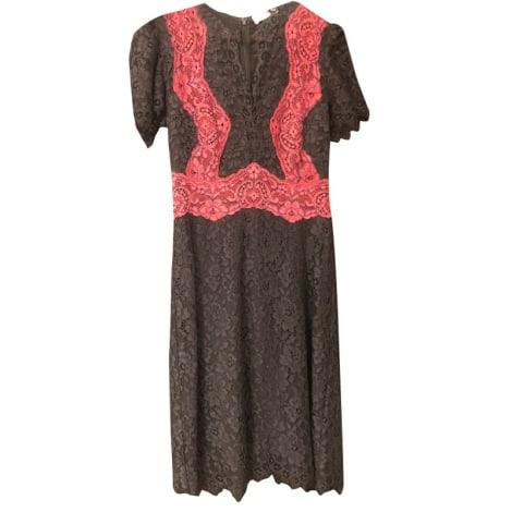 Midi Dress SANDRO Black