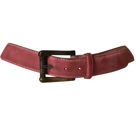 Wide Belt KENZO Pink, fuchsia, light pink