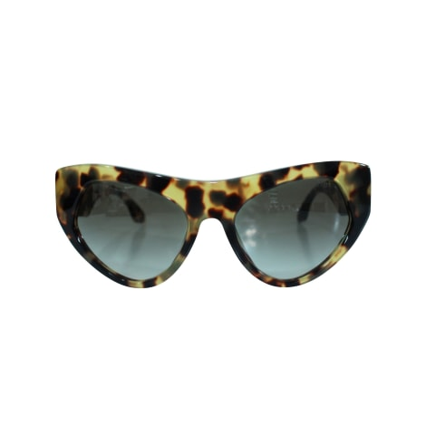 Sunglasses PRADA Animal prints