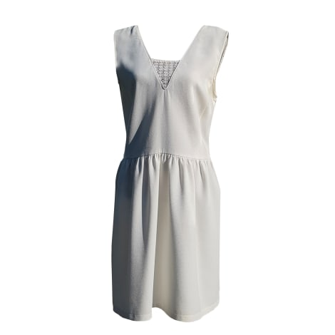 Midi Dress COMPTOIR DES COTONNIERS White, off-white, ecru