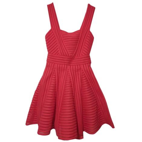 Mini Dress MAJE corail