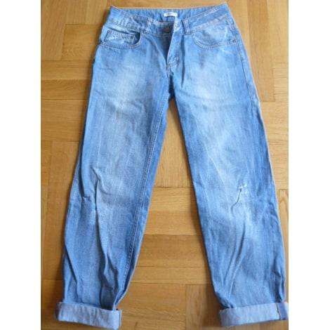 Jeans large, boyfriend LA REDOUTE Bleu, bleu marine, bleu turquoise