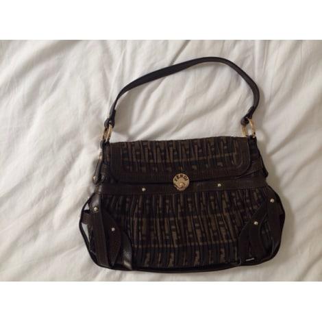 Non-Leather Shoulder Bag FENDI Brown