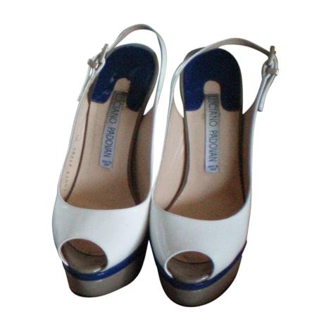 Sandales à talons LUCIANO PADOVAN Blanc, blanc cassé, écru