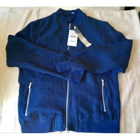 Blouson ZARA Bleu, bleu marine, bleu turquoise