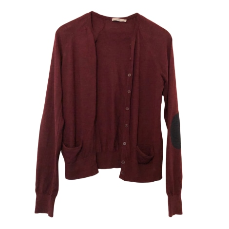 Gilet, cardigan COS Rouge, bordeaux