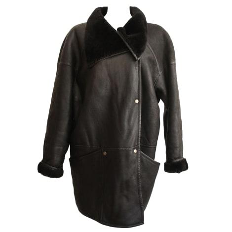 Manteau en fourrure MAC DOUGLAS Noir