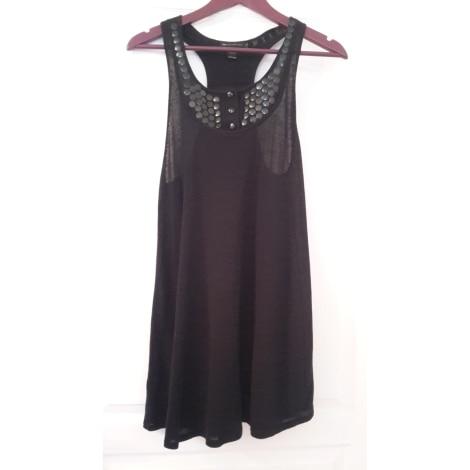 Robe tunique MANGO Noir