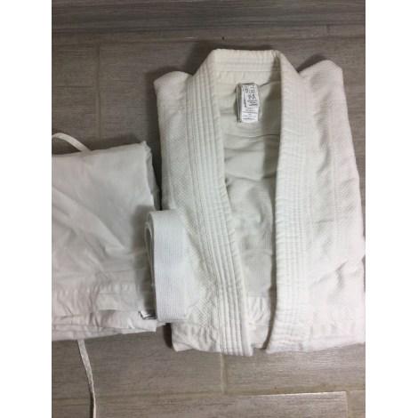 Ensemble jogging DOMYOS Blanc, blanc cassé, écru