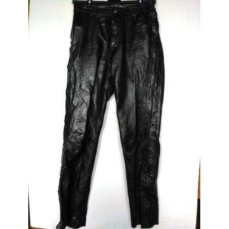 Pantalon slim VINTAGE Noir