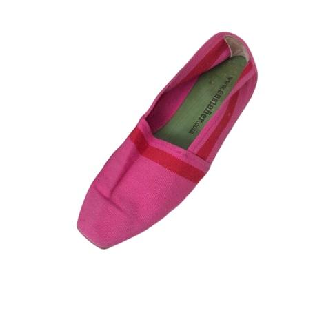 Sandales plates  CASTANER Rose, fuschia, vieux rose
