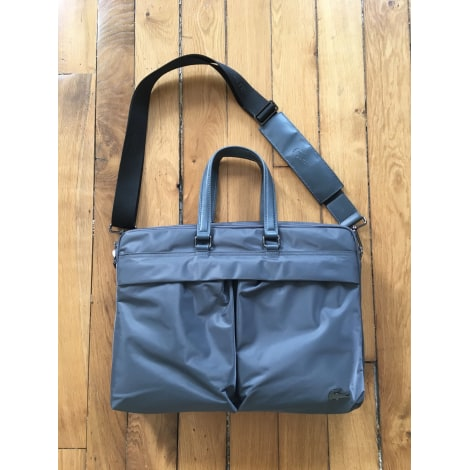 Briefcase, folder LACOSTE Gray, charcoal