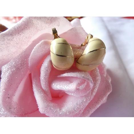 Boucles d'oreille MONET Blanc, blanc cassé, écru