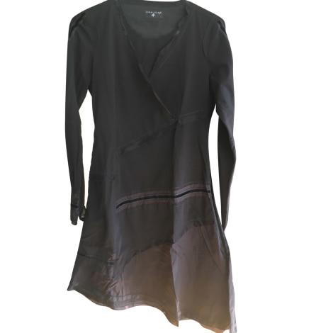 Robe mi-longue ONE STEP Noir