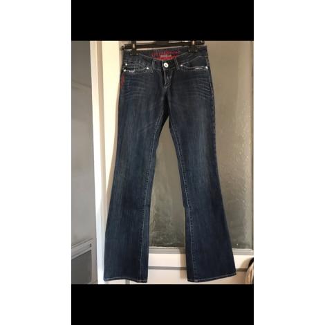 Boot-Cut Jeans GUESS Blau, marineblau, türkisblau