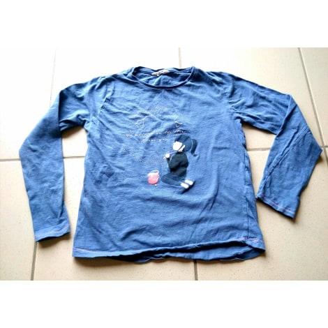 Top, Tee-shirt MANGO Bleu, bleu marine, bleu turquoise