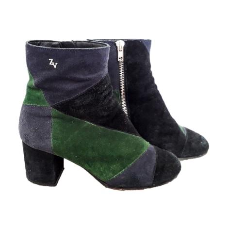 Bottines & low boots à talons ZADIG & VOLTAIRE Multicouleur