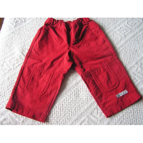Pantalon DÉCATHLON Rouge, bordeaux