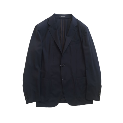 Veste de costume ERMENEGILDO ZEGNA Bleu, bleu marine, bleu turquoise