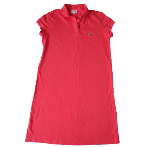 Dress LACOSTE Pink, fuchsia, light pink