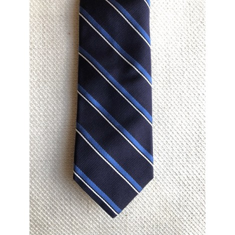 Cravate MASSIMO DUTTI Bleu, bleu marine, bleu turquoise
