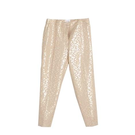 Pantalon droit SÉZANE Blanc, blanc cassé, écru