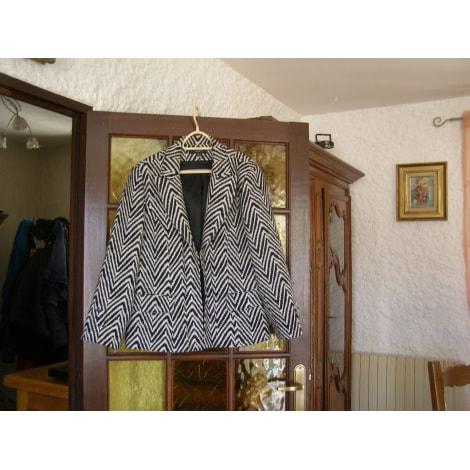 Blazer, veste tailleur UN JOUR AILLEURS noir et blanc